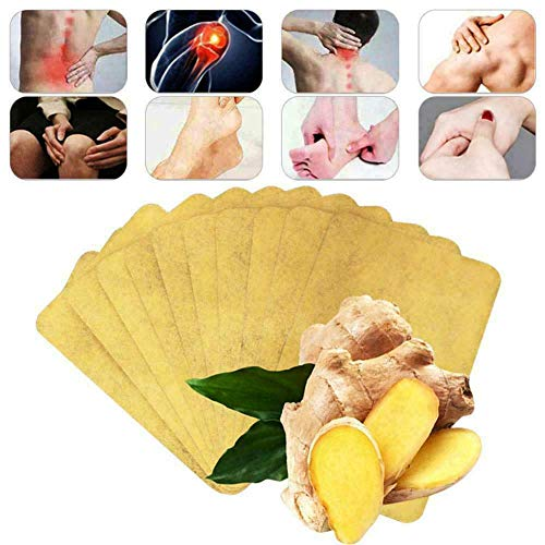 MMWA 10/30 stücke Kräuter Ingwer Patch Körper Detox Neck Knie Pad Schmerzlinderung Gesundheitswesen (10)