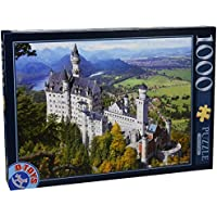 D-Toys - Puzzle, motivo: Castello di Neuschwanstein, Germania, 1000 pz.