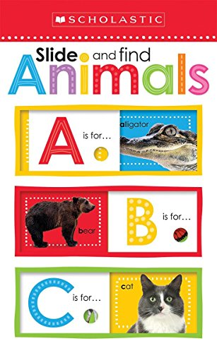 Slide and Find ABC Animals (Scholastic Early Learners: Slide and Find) (Scholastic Early Learners (Cartwheel - US))