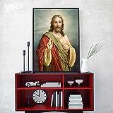 NIMCG Poster Ritratto retrò Arte e Stampa su Tela Wall Art Pittura Ragazza Che Balla in Abito Rosso Decorazione Foto per Camera Parete Replica (Senza Cornice) A2 60x90CM