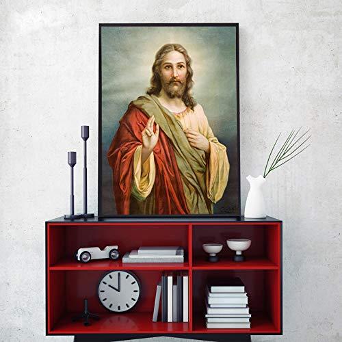 NIMCG Poster Ritratto retrò Arte e Stampa su Tela Wall Art Pittura Ragazza Che Balla in Abito Rosso Decorazione Foto per Camera Parete Replica (Senza Cornice) A2 20x30CM