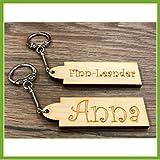 Schlüsselanhänger mit eigenem Namen -Geburtsgeschenk, Geburtstagsgeschenk, Weihnachtsgeschenk