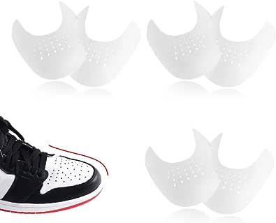 HONGECB Sneaker Scarpa Scudi, Anti-Rughe Protezione per Scudi Toe, Protezioni Contro Le Pieghe delle Scarpe, Leggere e Traspiranti, Evitare Che Le Scarpe Sneaker Pieghino La Rientranza