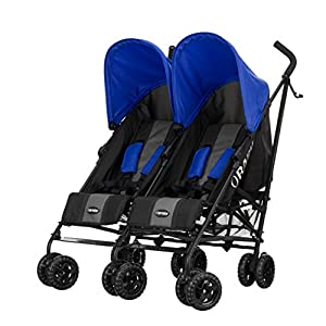 Obaby Apollo Twin Stroller (Blue) from Obaby
