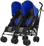 Obaby Apollo Twin Stroller (Blue)