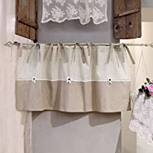Cantonni re rideaux for Cantonniere shabby chic