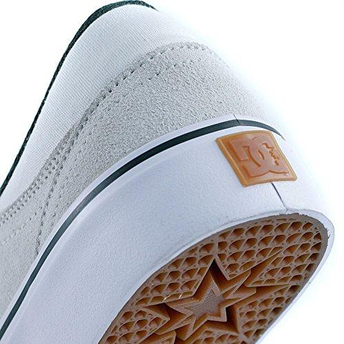 DC Shoes Trase S SE Tristan - Chaussures basses pour homme ADYS300199 Blanc - Blanc
