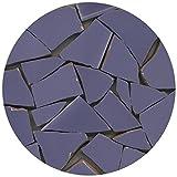 Eclats de mosaïque émaillée, 20-50mm, 1Kg Violet nacré, BN02