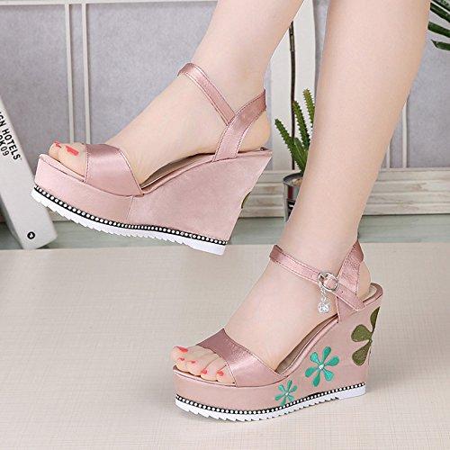 khskx-korean Fashion scarpe scarpe a punta labbra, Thirty-nine Thirty-five