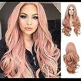 Aufgeteilte Länge Perücke der lockigen Haare der Art und Weisefigur, Bildfarbe senden Haarnetz