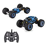 SUPER TOY Double Sided Stunt RC Car One Key Deformation Vehicle Monster Rock