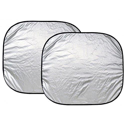Price comparison product image Custom Accessories 17950 25-Inch x 28-Inch Nylon Loop Solar Shield Sunshade,  2 Piece