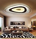 Woward Premium LED Deckenleuchte ER-78114 aus Plexiglas mit Fernbedienung | 114W | Lichtfarbe und Helligkeit dimmbar