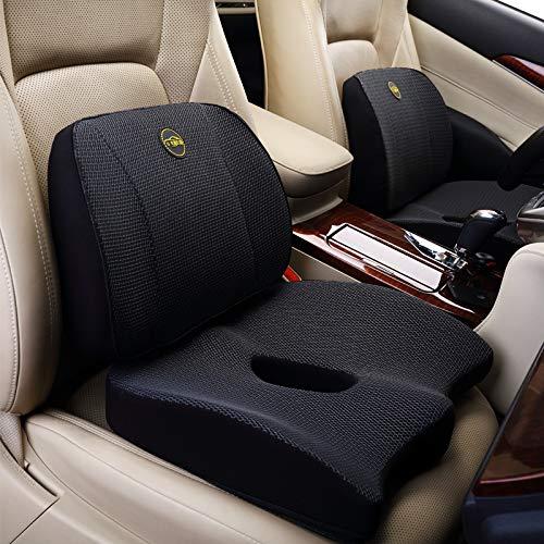 WMTW Gedächtnis-Baumwolltaillen-Kissen-Kissen-Büro-Kolben-Auflage-Kolben-Zunahme-Verdickung Autositz-Rückenlehnen-Auflage G