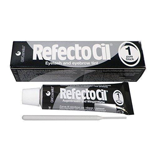 NB24 RefectoCil Wimpernfarbe tiefschwarz 1 Augenbrauenfarbe Kosmetikbedarf Friseurbedarf
