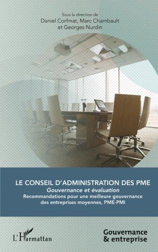 Le Conseil d'administration des PME par Georges Nurdin