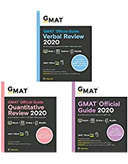 GMAT Official Guide 2020 - Bundle (Set of 3 Books)