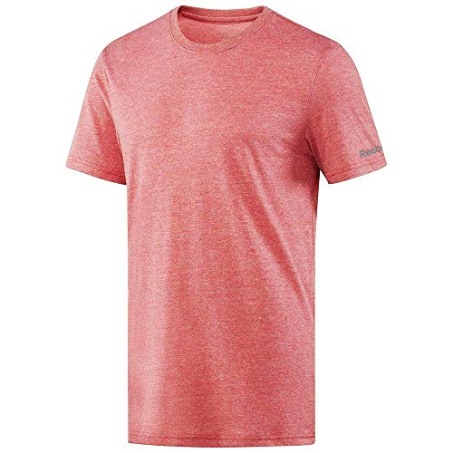 Reebok Crossfit Men's Red Tri-Blend Crewneck T-Shirt (L) -