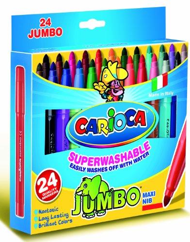 Carioca Scatola 24 Jumbo Superlavabile