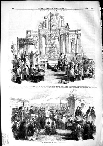 1850Synode Thurles Bischöfe Robing Tipperary Irland