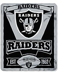 NFL Oakland Raiders marque Couverture en polaire 152x 127cm