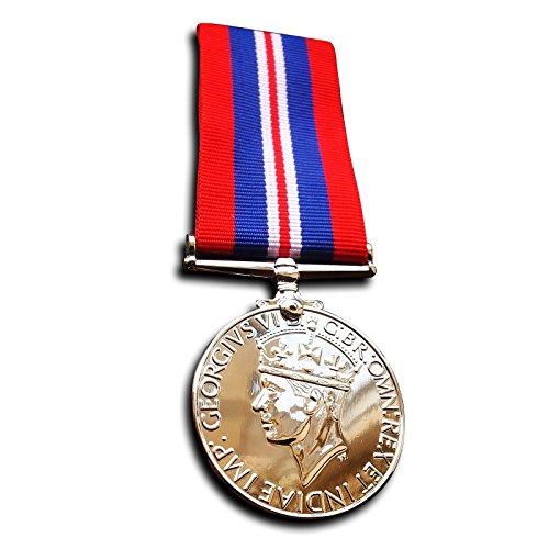 Militär Medaille Krieg Medaille 1939 - militärische Kampagne Medaille 1945 - Streitkräfte &Amp; Handelsmarine Repro (Medaillen Krieg)