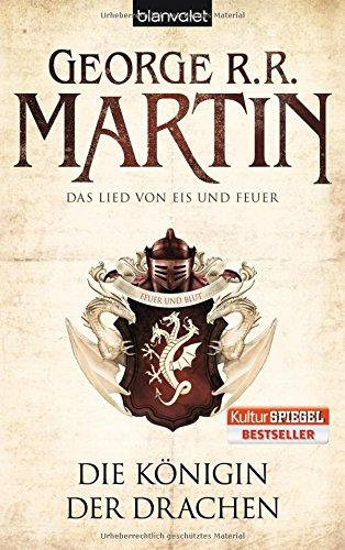Buchseite und Rezensionen zu 'Die Königin der Drachen' von George R.R. Martin