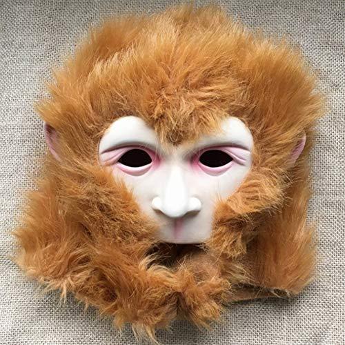 e Maske Nette Lustige Latex Tier AFFE Kreativen Stil Maske Cosplay Film Kostüm Parodie Partei Requisiten Zubehör Unisex One Size ()