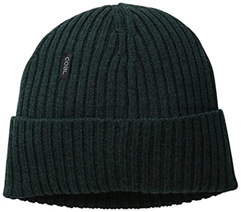 Coal Men's Emerson Merino Wool Beanie, Evergreen, One Size