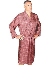 Robe de chambre ecossais en maille polaire en tartan Lindsay Taille XXL