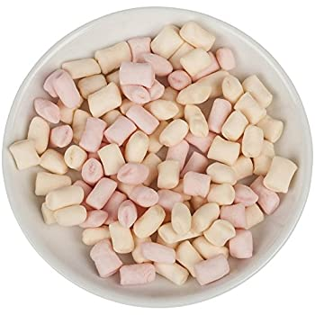 Freedom Confectionery - Mini Pink & White Vanilla Mallows - 75g 1