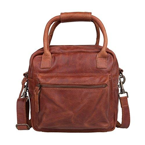 COWBOYSBAG Bag Widnes 1514 cognac Unisex-Erwachsene Henkeltaschen 24x22x10 cm (B x H x T)