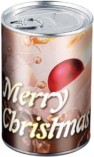 infactory Geschenk verpacken: Geschenkdose Merry Christmas: Originelle Präsent-Verpackung (Dose als Geschenkverpackung)