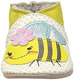 Robeez Bee Z, Chaussures de Naissance Bébé Fille, Jaune (Jaune), 23/24 EU