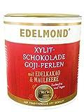 Produkt-Bild: Edelmond Gojibeere in Xylit Schokolade. Ohne Zucker. Vegan ?wie Milch? liebliche Lactosefreie Birkenzucker Perlen. 220g.