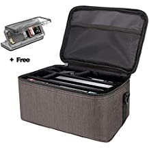 Kindax Custodia Nintendo Switch Storage Bag Borsa da Viaggio per Nintendo Switch con Grande Spazio per Mettere e Trasportare Consolle, Comandi, Caricatore, Cavi ecc