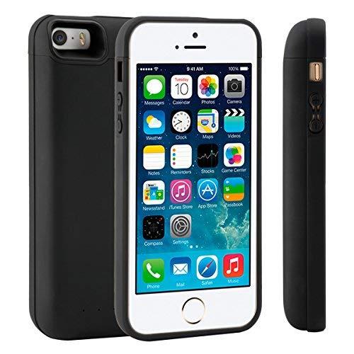 Funda Batería iPhone 5 5S SE, LifeePro 4000mAh Batería Recargable...