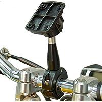BuyBits esteso 9cm metallo di qualità Supporto Manubrio per Bici Moto per Garmin ZUMO 595LM 395LM 345LM - Adattatori Di Estensione Raccordi