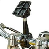 BuyBits Verlängert 9cm Hochwertige Metall Fahrrad Motorrad Lenkerhalterung passt Garmin ZUMO 200 220 340 350 390 400 500 550 590 660