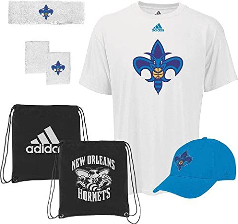 New Orleans Hornets Adidas NBA To the Court 5-Piece Shirt