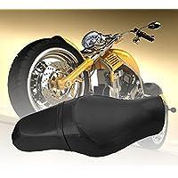 Asiento de la motocicleta Asientos delanteros Asientos del piloto trasero Cojín de la silla de paseo Accesorios de la motocicleta para Harley Davidson 883 XL1200