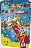 Schmidt Spiele 51409 - Benjamin Blümchen, Lerne Die Formen!,