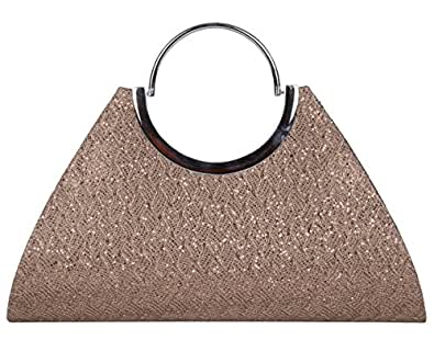 ADISA CL025 copper women girls clutch