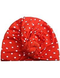 Tpulling Bonnet Bebe, Mignon Nouveau-né Enfants Fille garçon Turban Coton Bonnet  Bonnet Hiver 6e9859e04ce