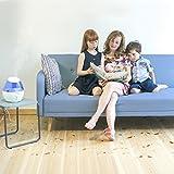 Kompakter Kaltnebel-Luftbefeuchter, ideal für Kinderzimmer: Hilft aufgrund des kühlenden Gefühls Husten und Erkältungen zu lindern. - 3