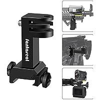 Soporte 2en1 para cámara de acción, adaptador de riel Picatinny para cámara de deporte GoPro Hero 7/6/5/4/3+/3 Sony y otras cámaras para caza, pistola de carbina, pistola de airsoft, pistola de rifle