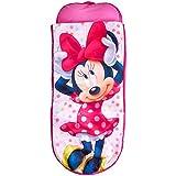 Readybed Minnie Mouse Cama Hinchable y Saco de Dormir Infantil Dos en Uno, Poliéster,