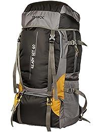 TRAWOC 55 LTR Travel Backpack for Camping Hiking Trekking Bag Rucksack, 1 Year Warranty