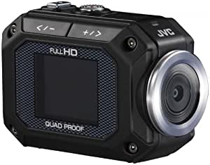 JVC GC-XA1BEU Action Kamera ADIXXION (Full HD-Videoaufnahme, 5m wasserdicht, 2m stossfest, 3,8 cm Display, Wi-Fi Schnittstelle) schwarz