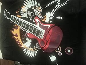 Electric Rock Guitar T-Shirt Playable Guitar! Gadget Electronic Guitar T-Shirt